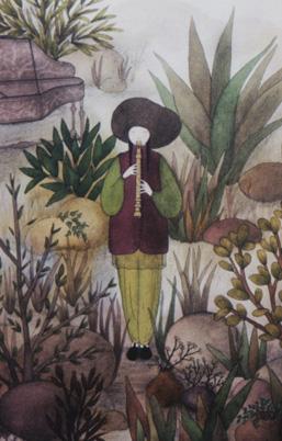 'Jardin Musicien' by Roseau